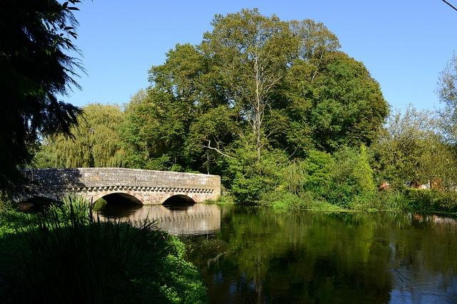 River Avon at Ringwood, Hampshire,