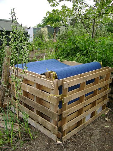 compost bin made from pallets this is how we made our composters