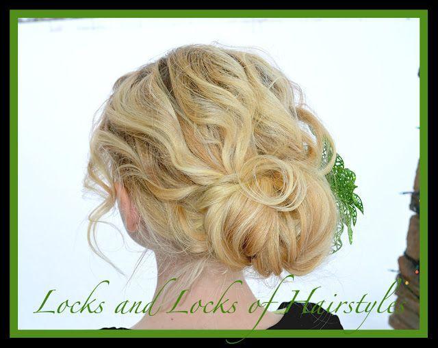 Serrures et verrous de coiffures: Tutoriels vidéo rapides et faciles: Facile et rapide Up-Do pour cheveux courts et fins - # coiffures # serrures #quick #tutorials