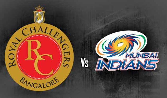 IPL 9 T20 Live Score - Watch Royal Challengers Bangalore (RCB) vs Mumbai Indians (MI) Live Streaming Match Online