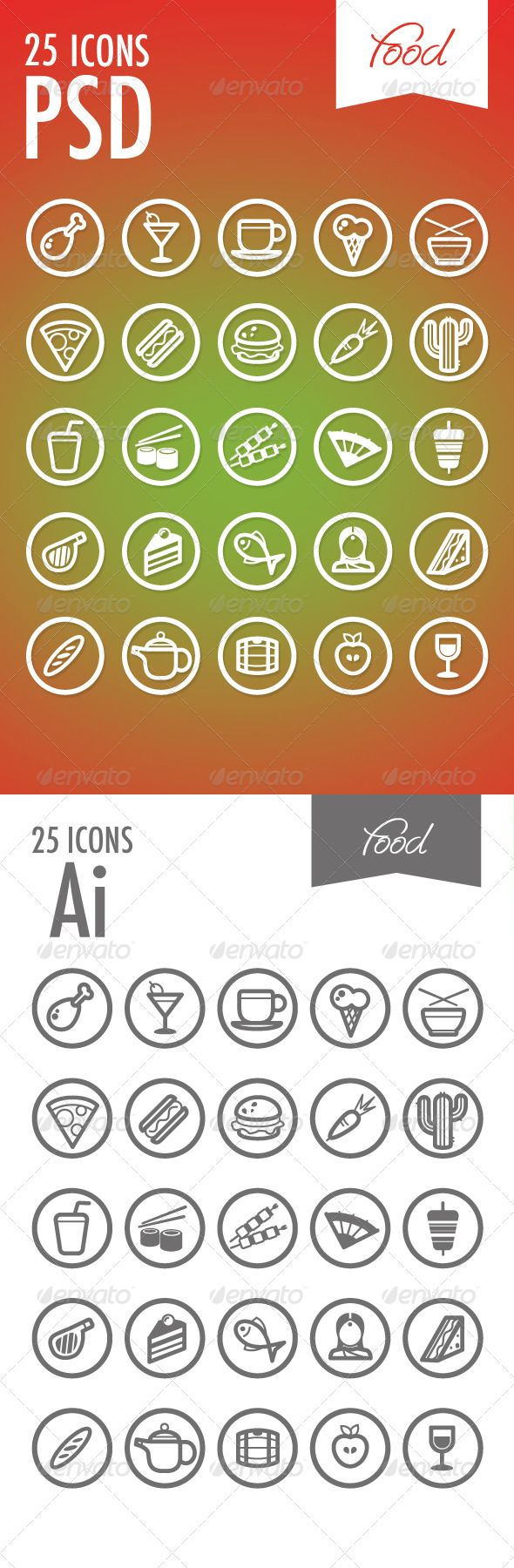 8 best icons images on pinterest icon set icons and typography 25 vector icons food biocorpaavc