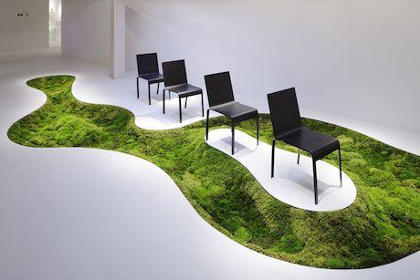 house decor of moss in Shanghai