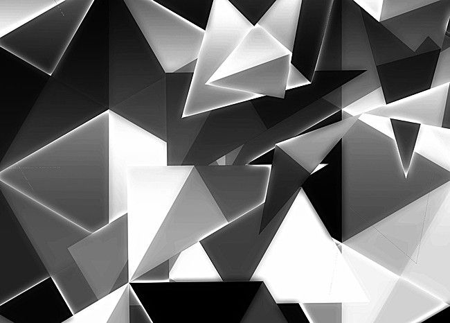 Cubism Abstract Black And White Background Black And White Background Cubism Abstract