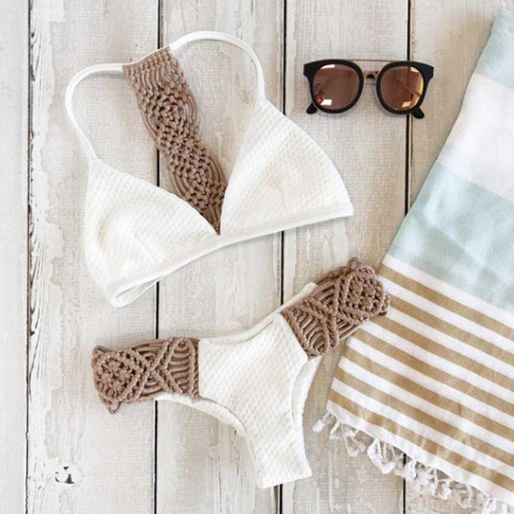 racerback swimsuit crochet tankini bikini racer back bikini top patchwork bikini push up. Save.extra 20% OFF on $45  Sitewide till Aug 1st use code SUMMER20%OFF.
