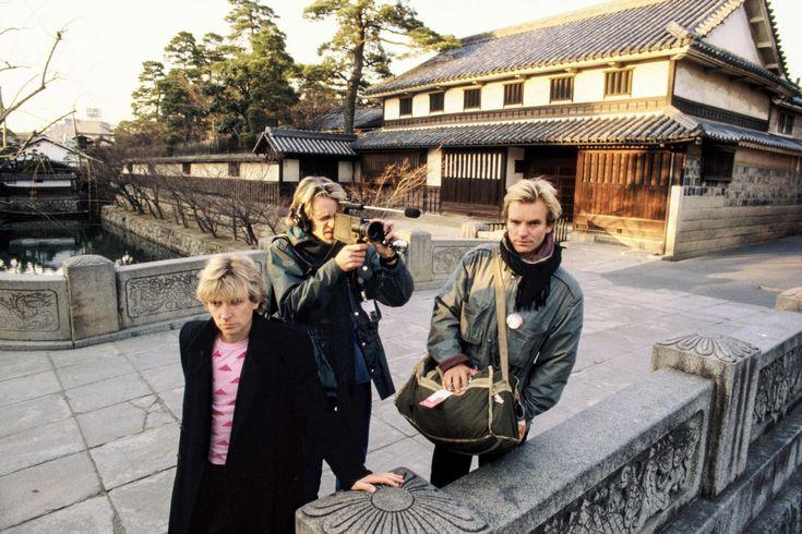 Sting & the Police, Kurashiki, Okayama, Japan, 1981. These bizarre photos show the world's biggest rock stars as tourists in 1970s Japan