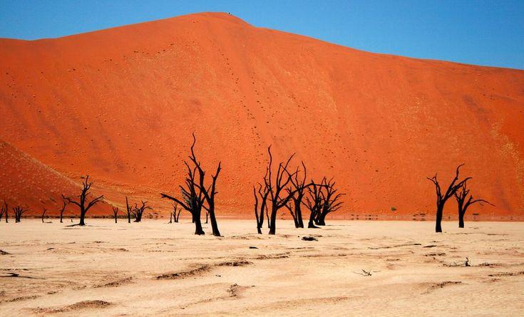 Namib Desert in Sossusvlei, Namibia | 32 Magical Destinations To Visit In This Lifetime