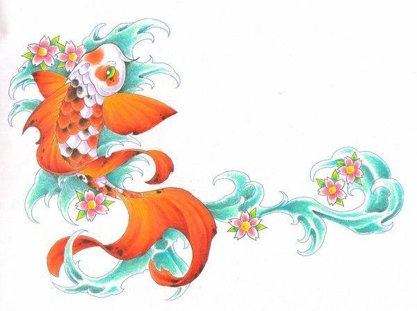 Ms de 25 ideas increbles sobre Tatuajes de pez en Pinterest