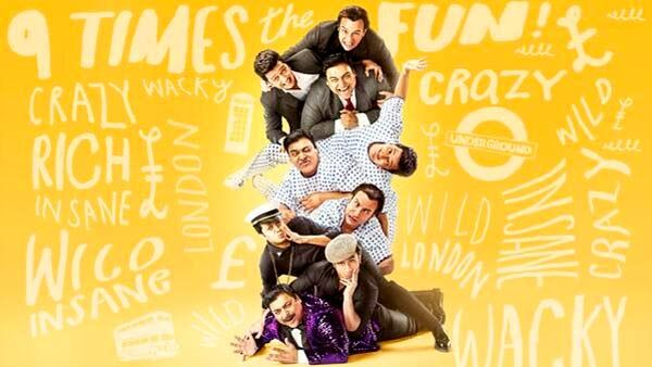 Sajid khan's much awaited movie of this year 2014 titled as Humshakal Motion Poster is reveled online by makers. Watch Online the official motion poster of Humshakals Movie. Movie Stars Saif Ali Khan, Riteish Deshmukh and Ram Kapoor - all three in triple roles - along with a bevvy of gorgeous ladies - Bipasha Basu, Tamannah Bhatia and Esha Gupta. Movie is Directed by Sajid Khan.  Humshakals Motion Poster First Look Poster of Sajid Khan's much awaited Movie Humshakals was revealed after 9 pm…