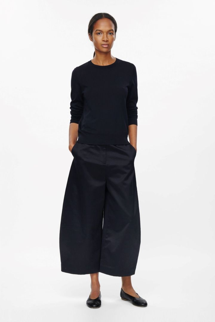 COS | Rounded wide-leg trousers