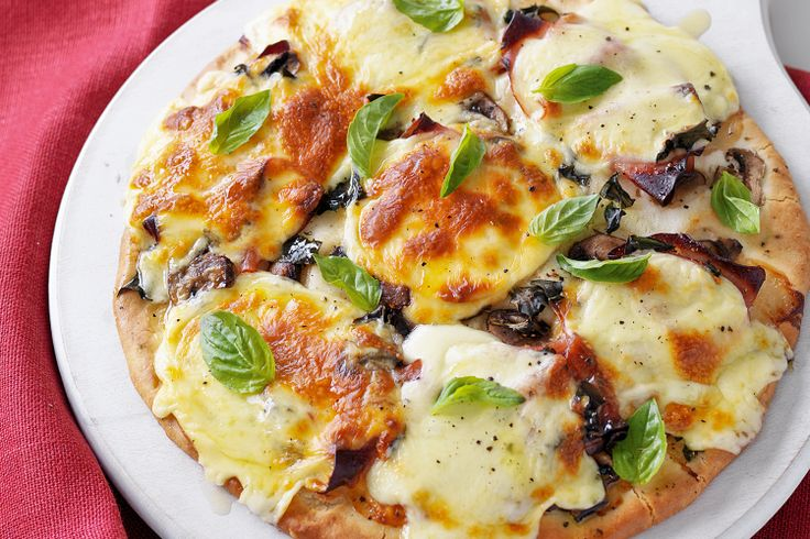 A fructose-free version of the Italian classic #fructose #allergy #pizza http://www.taste.com.au/recipes/23738/fructose+free+ham+and+mushroom+pizza