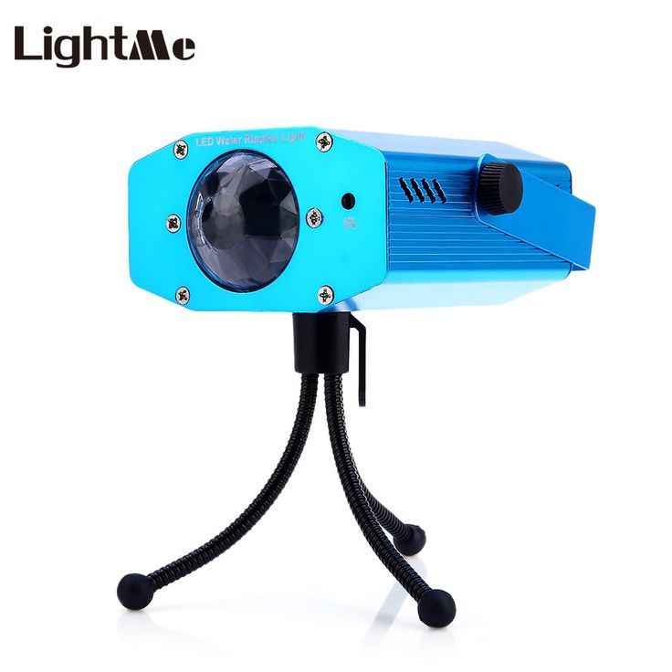 Lightme 3W RGB LED Water Ripple Projector Stage Lights For Party Holiday Club Dj Disco Lights Stage Lamp Outdoor 2017 Hot Sale
