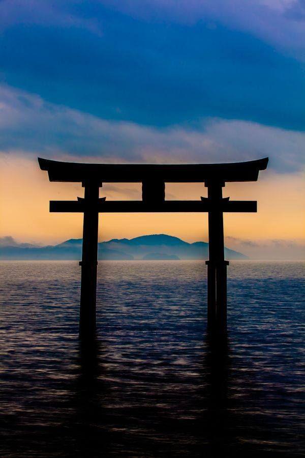 Torii gate in Japan