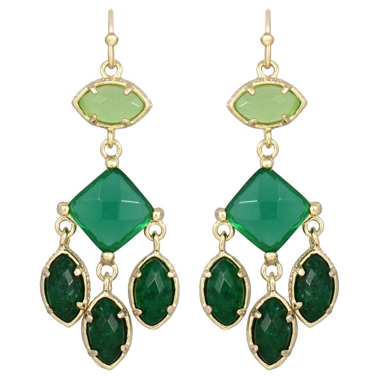 Kendra Scott Evelyn Jazz Earrings KSH2E4019GJAZZ