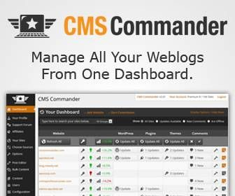 Manage Multiple Sites Easily and Effectively with CMS Commander