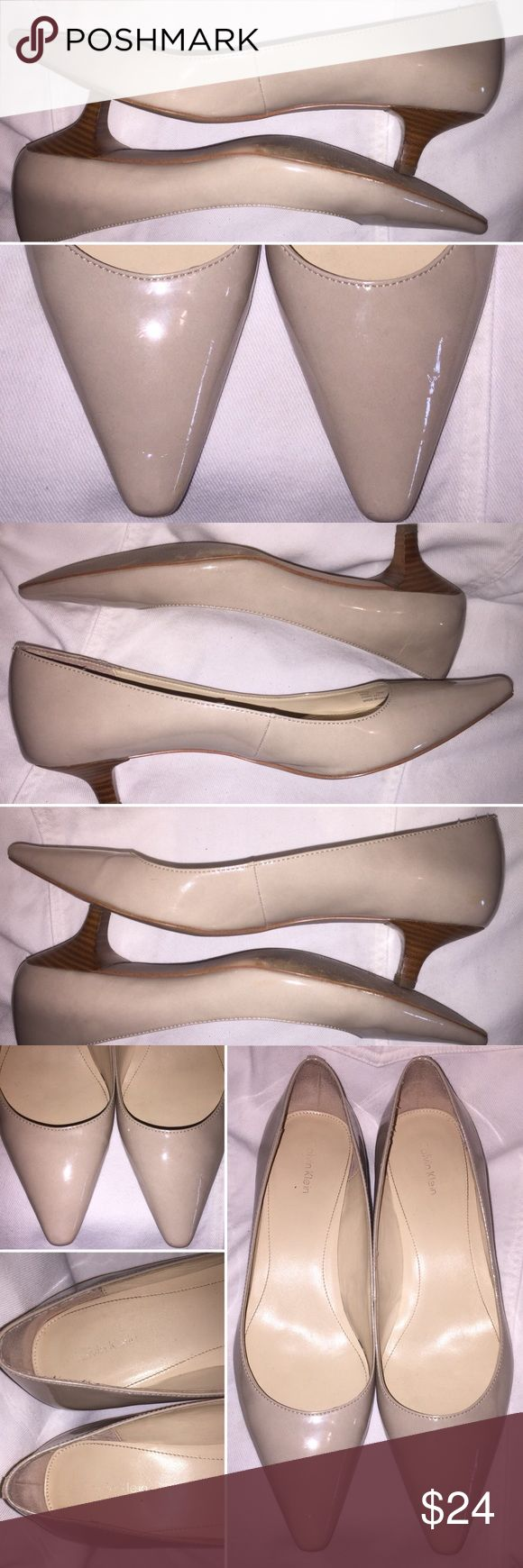 I just added this listing on Poshmark: Calvin Klein Nude Pointed Pump Kitten Heel Size 10. #shopmycloset #poshmark #fashion #shopping #style #forsale #Calvin Klein #Shoes