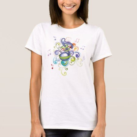 Music in the air T-Shirt - tap, personalize, buy right now!