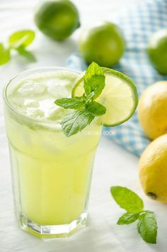 skoraq cooks: Ekspresowa lemoniada miętowa / Superquick mint lemonade
