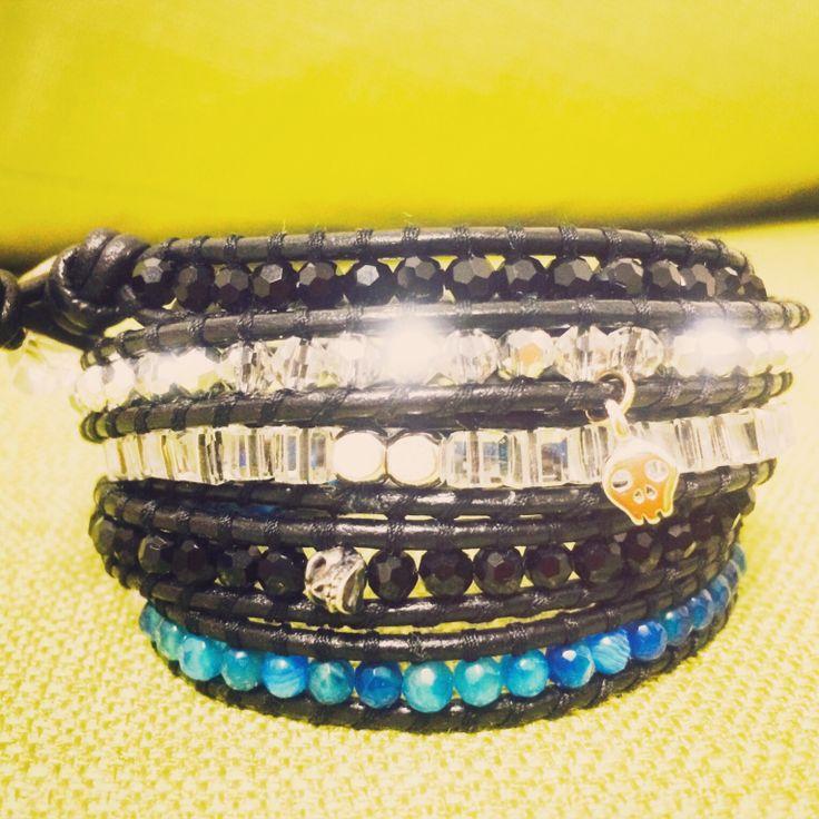 Chanluu style bracelet DIY 찬루 스타일 팔찌