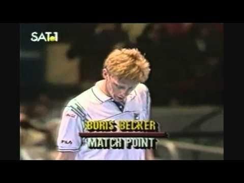 ▶ Becker vs. Lendl - incredible match-point - YouTube