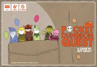 Pocket Dungeon Quest | Board Game | BoardGameGeek