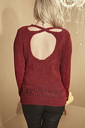 Receitas Círculo - Blusa Vermelha Precioso