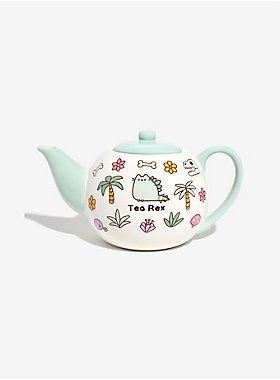 *Tea* Rex, get it? | Pusheen Tea-Rex Teapot