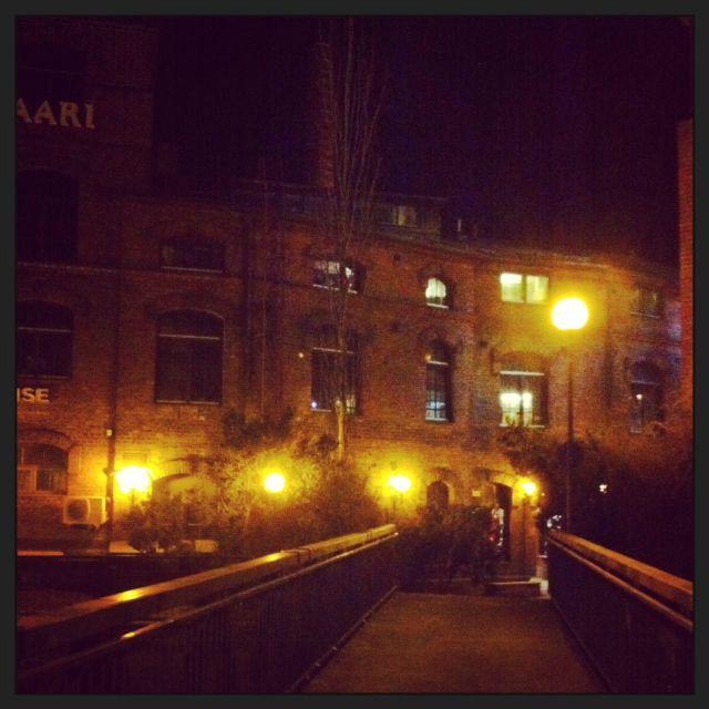 Kehräsaari by night (Tampere, Finland). #tampereblog #tampereallbright