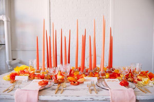 Orange Crush Wedding Ideas