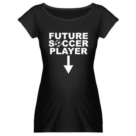 Future Soccer Player Maternity Dark T-Shirt