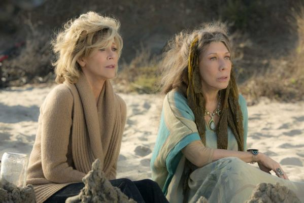 """""""Grace and Frankie"""" stars two veteran actresses, Jane Fonda and Lily Tomlin, as women blindsided by the news that their husbands are gay and planning to marry each other. This 13-episode series was created by Marta Kauffman (who co-created """"Friends"""" with David Crane) and veteran comedy showrunner Howard J. Morris. Both Kauffman and Morris co-created the early '90s HBO comedy, """"Dream On,"""" and its star, Brian Benben, makes a cameo in their new show."""