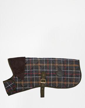 Barbour Plaid  Dog Coat
