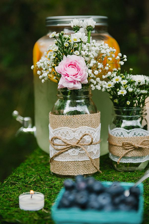 Woodland Bridal Shower | Lori Romney Photography | Floral Design by Erin