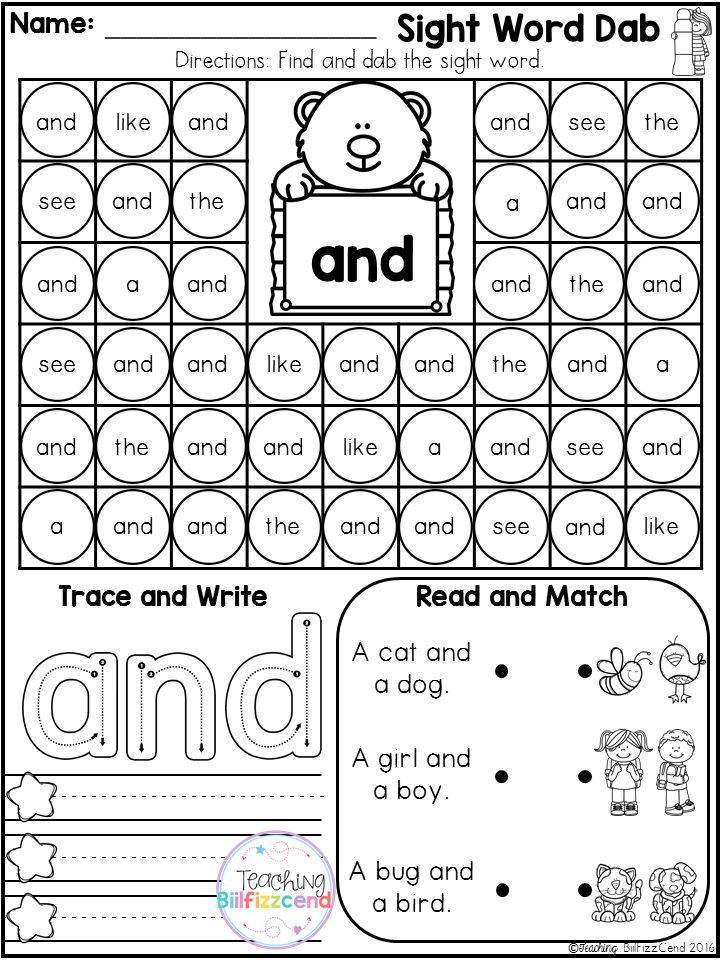 The 25+ best Kindergarten sight words printable ideas on