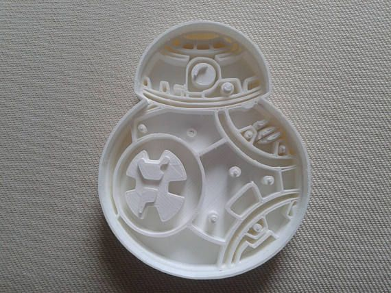 BB8 Star Wars Cookie Cutter 3d Printed