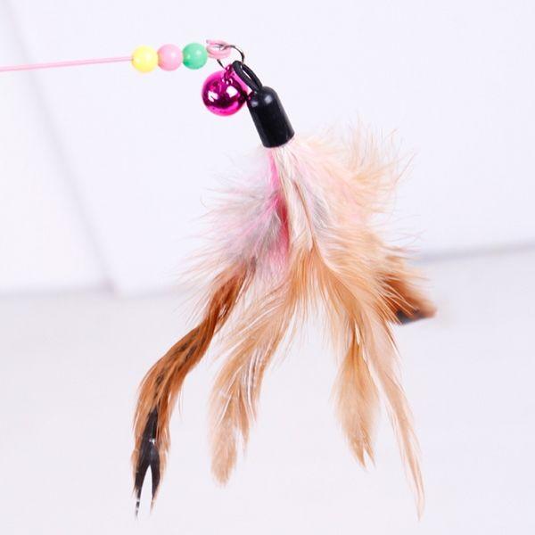 고양이 낚시대 장난감 캣토이 깃털 방울 고양이용품 2020 고양이 장난감 강아지 장난감 장난감