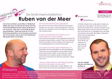 Ruben van der Meer & Tijl Beckand De Grote Improvisatieshow #GIS