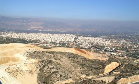 Panoramic view of Megara