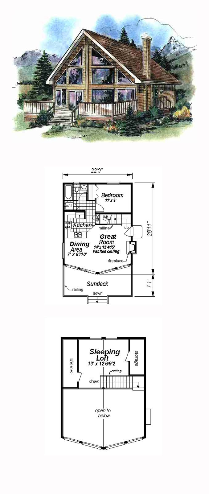 444 Best House Plans Images On Pinterest Floor Plans: cool small home plans