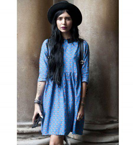 Le style vintage, street style de la Fashion Week printemps été 2014