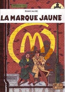 Black et Mortimer eu MacDo !