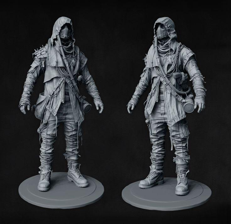 Postapocalyptic Character - Marcus