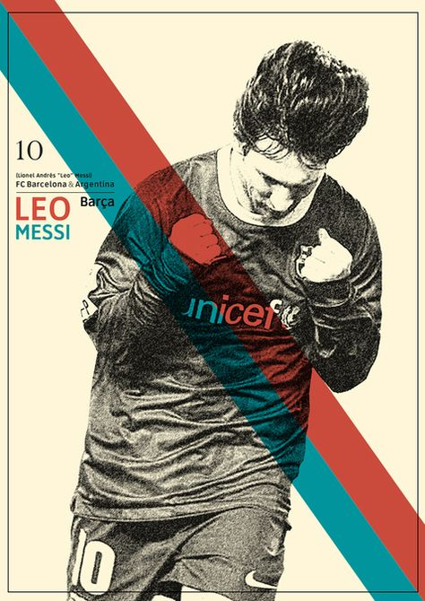 Leo Messi, FC Barcelona football player