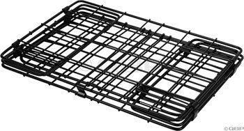 Wald 582 Rear Folding Bicycle Basket (12.75 x 7.25 x 8.5, Black) by Wald. $21.46. Folds up compactly (1 inch thick) for easy storage. Rear bicycle basket with space for 1 to 2 grocery bags. Also ideal for picnic items, extra clothes, or books. Mounts unobtrusively on the side of rear bicycle rack. The Wald 582 sets the standard for ingenuity when it comes to rear baskets. Mounting to the side of almost any rear rack, this nimble basket is the perfect size for packing 1-2...