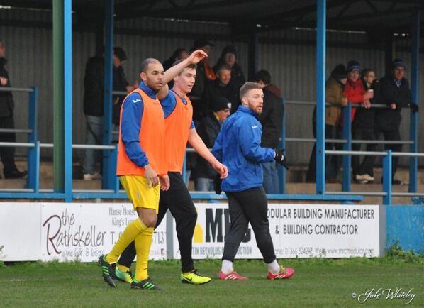 Peter Bore,  Jack McGovern,  King's Lynn Town FC 11/1/14