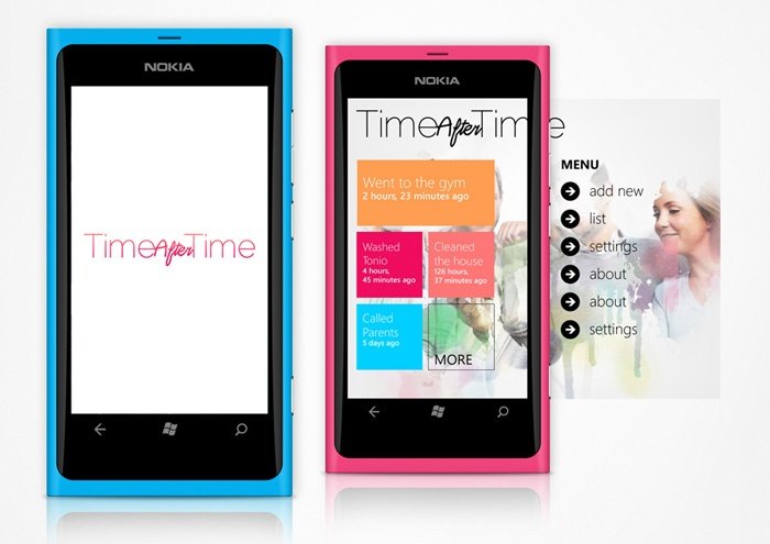 Time After Time - Windows Phone app