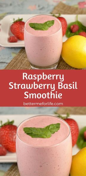 The flavors of summer are in this raspberry strawberry basil smoothie. Packed with antioxidant and anti-inflammatory nutrients the is a summer must-have! Find the recipe on BetterMeforLife.com