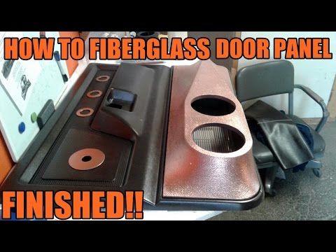 How To Fiberglass Door Panels 1st Gen Dodge Ram Finished Youtube