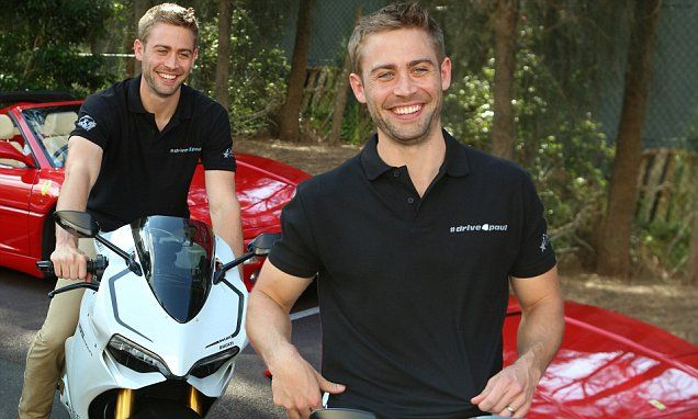 He's currently in Australia for a series of car rallies in support of his late brother Paul Walker's disaster relief charity.