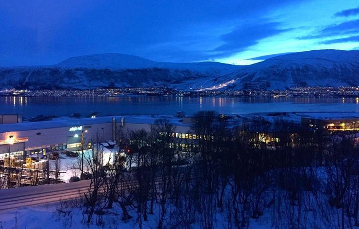 "How People Stay Happy in the Norewegian Town Where the Sun Doesn't Rise - The Atlantic - Tromsø, Norway, where the ""Polar Night"" lasts all winter"