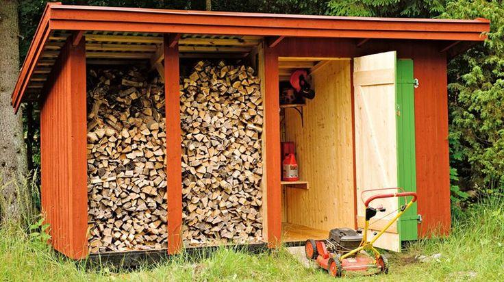 Fixa en smart förvaringsplats för dina verktyg, trädgårdsredskap och återvinning.